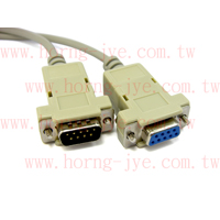 RS232 CABLE DB9M / 9F