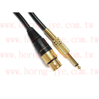 Video/Audio Cable / XLR-F TO 6.3mm(1/4)