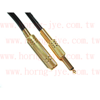 Video/Audio Cable / 6.3mm(1/4) M/F