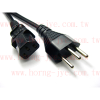 Power Cord / Swiss Type 3PIN